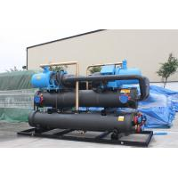 China Residential Air Conditioning Heat Recovery Unit Screw Water Cooled Chiller 90 -170 Tons on sale
