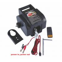 Best Line Pulling 2000 LB 12V DC Portable Electric Winch / Winches For Boat wholesale
