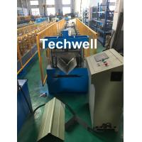 Quality Panasonic Control Ridge Cap Roll Forming Machine For Making 0.3-0.8mm Coil Sheet for sale