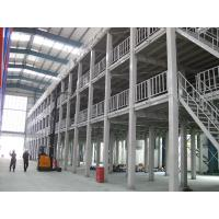 Quality Industrial Fixed Steel Ladder Portable Warehouse Platform Rack Space Saving for sale