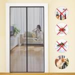 Quality Fashionable Design Magic Curtain Door Mesh , Safety Magic Mesh Curtain for sale