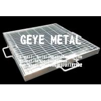 Quality Hinged & Locked Mesh Gratings, Hinged Steel Grill Grates, Floor Drain Covers, Gully Guttering Metal Grids for sale