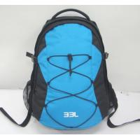 Backpack with 2 main compartment, 600D Durable polyester fabric, 210D polyester Lining