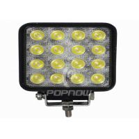 Quality Energy Saving 2800LM IP67 48W LED Automotive Work Lights / Off Road Work Lights for sale