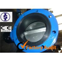 Quality Cast Iron Manual Pneumatic Butterfly Valve With Low Pressure For Water DN50 for sale