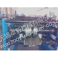 Quality High precision Metal Door Frame Roll Forming Machine line with 5 Rollers for sale
