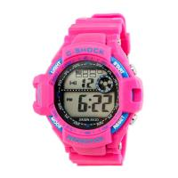 Quality Silicone Waterproof Multifunction Digital Sports Watches Mens Quartz Wrist Watch for sale