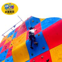 Amusement Parks Kids Rock Climbing Wall For Age Range 3 - 14 Years Old