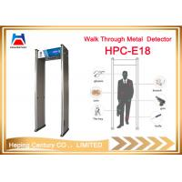Quality Thailand walk through metal detector with high sensitivity security check for sale