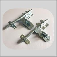 Quality Nickel Plated Lockable Door Bolt , External Door Latch  White Zinc Surface Polish for sale