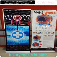 Quality Scrolling Retractable Trade Show Banner For Exhibition for sale