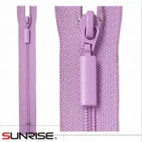Quality High quality #3 oepn end S40 weaving tape nylon zippers with auto lock slider for garments for sale