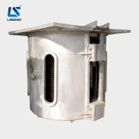 Quality Medium Frequency Bronze Aluminum Scrap Metal Melting Furnace Electric 250KW for sale