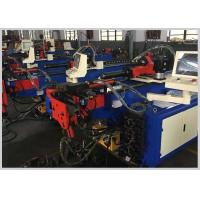 Quality PLC Control Electric Power CNC Pipe Bending Machine With Teo Axis Driving for sale