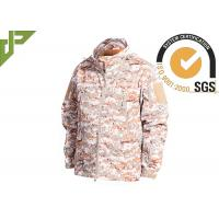 Quality Warm Military Tactical Jackets Digital Desert Color , Winter Law Enforcement Outerwear for sale