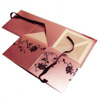 Best Foil Stamping, Spot UV, Embossed Square Cardboard Cosmetic Gift box flat pack wholesale