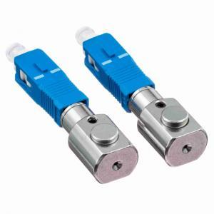 Quality Gray Bare Adapter Fiber Optic SC Type Fiber Optic Couplers For Test Center for sale