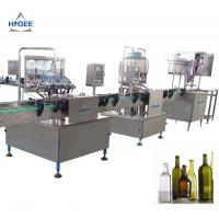 Quality 240 V 50 Hz 1 Phase Small Beer Filling Machine In - Build Bottle Tray Device for sale