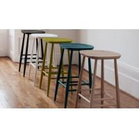 Quality Commercial Furniture Modern Bar Chairs Plywood Seat Bar Stool Solid Ash for sale