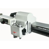 Quality Flatbed Digital Cutter / Corrugated Box Cutting Machine With Oscillating Blades for sale