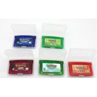 Quality Cheaper Game for GBA :Pokemon Emerald ,fire red, ruby,sapphire,leef green mix order for sale