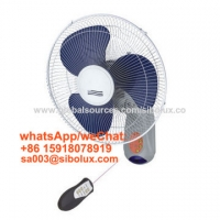 """Quality 16 inch electric plastic wall fan with remote control for office and home appliance/16"""" Ventilador de escritorio for sale"""