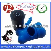Quality Custom Corn Starch Biodegradable Dog Poop Bags With Logo Printed for sale