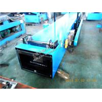 Quality Portable Aluminum Sheet K Gutter Roll Forming Machine 6-8m/min for sale