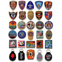 Quality custom embroidery badge for sale