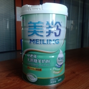 Quality 800g Elderly Milk Powder Sugar Free Evaporated Goat Milk for sale