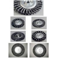 Quality Torsion steel brush for removing PE layer of enameled  wire brush for metal polishingcarbon steel wire for sale