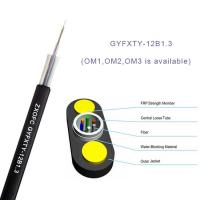Quality Gyfxty Outdoor Non Metallic Fiber Optic Cable 12 Core Single Mode G652D 30M Span Length for sale