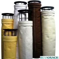 China Pleated Industrial Dust Collector Filter Bags For Cement Kiln Smoke Filter on sale