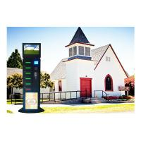 Best Fast Charge Coin Operated Cell Phone Charging Station 19 inch Advertising Screen wholesale