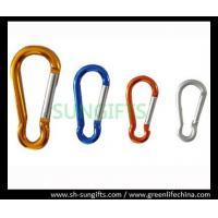 Quality Promotional multicolor aluminum carabiner for sale