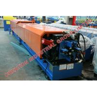 Quality Automatic Colored Painted Steel Downspout Roll Forming Machine 380V / 50HZ for sale