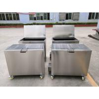 Quality 230L Heated Stainless Steel Dip Tank Cleaning Grease Filters From Kitchen Hoods for sale