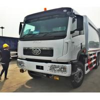 Quality 18 - 20m3 Garbage truck , FAW compressed garbage truck , 20tons FAW compactor garbage truck for sale