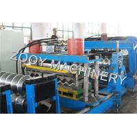 Quality 10 Tons Silo Making Machine Hydraulic Decoiler Big Containment for sale