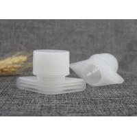 Buy cheap Durable Food Pouch Plastic Nozzle With Cover 24.5mm Outter Diameter Medium Size from wholesalers