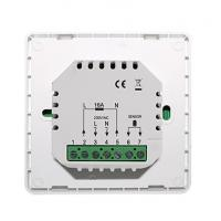 Buy Programmable Underfloor Heating Thermostat 16A With Black / White Color at wholesale prices