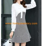 Quality fashion woman chiffon dress,lady silk skirts for sale
