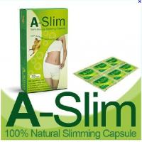 Quality A-Slim herbal quickly weight loss, smooth intestines, Body Slimming safe diet Green Pill for sale