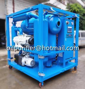 Quality transformer oil filtration machine specifications,transformer oil purification machine, Fr3 Oil Purifier Manufacturer for sale