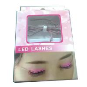 Quality Sound control led lashes led glowing false eyelashes Halloween Light Party Light for sale