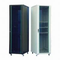Best Fashionable Design Server Cabinet/Supplied as a Flat Pack/Easy-to-assemble/Tempered Glass Front Door wholesale