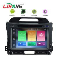 Quality KIA Sportage 8.0 Android Car DVD Player With GPS Stereo Radios Maps for sale