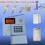 Quality A new GSM PSTN LCD Alarm, Alarmas de GSM, WL1011 for sale