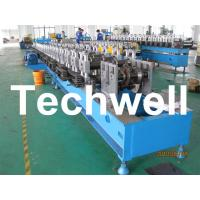 Quality Custom Automatic Guardrail Post Roll Forming Machine With Welded Structural Steel TW-SG100 for sale