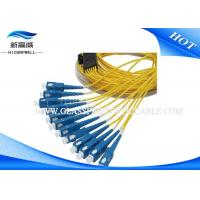 China LC FC SC ST SM Multimode Duplex Fiber Optic Cable Pigtail For Ground Vehicle on sale